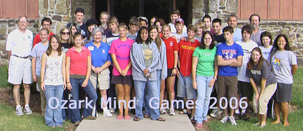 Ozark Mind Games 2006 Group Shot